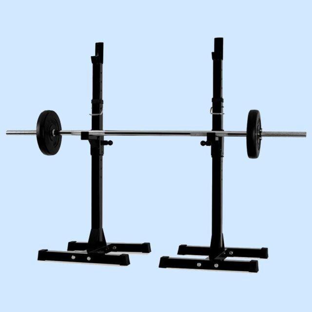 Adjustable Barbell Stand Squat Power Rack Bodyrip Sports