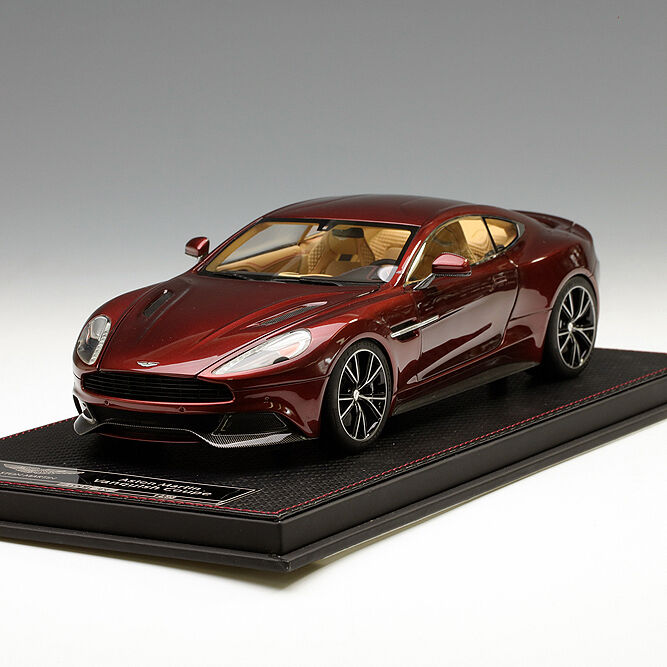 Frontiart 1 18 Aston Martin Vanquish wine rouge