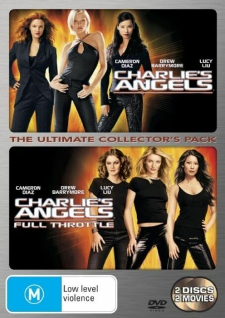 Charlie's Angels / Charlie's Angels - Full Throttle (DVD, 2006, 2-Disc Set)