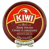 Kiwi Shoe Polish, Brown 1.125 Oz (pack Of 4) on sale