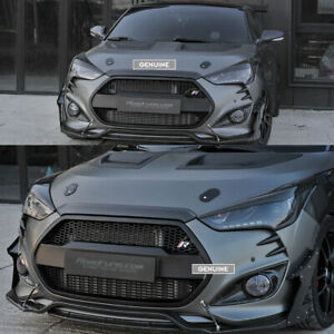 Details about RR Replacement Radiator Grille for Hyundai Veloster Turbo  [PAINTED]