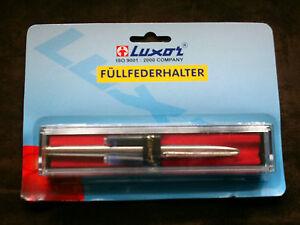 Luxor  10er Paket ASTRA Metallkugelschreiber mit Großraummine   Neu /& OVP