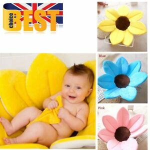 Incroyable Image Is Loading Baby Bath Tub Mat Blooming Flower Sink Bath