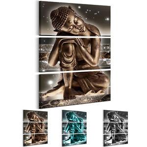 Wandbilder xxl Buddha abstrakte Bilder Wohnzimmer Schlafzimmer p-C ...