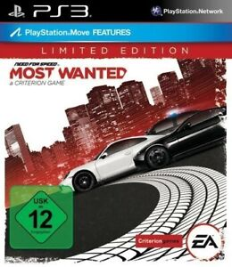 Ps3 Need For Speed Most Wanted 2012 Limited Edt Supports Move