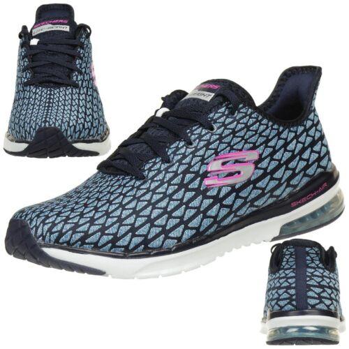 Air Skechers Infinity Fallin Skech Damen Free Foam Sneaker Memory Navy rHxqrZw