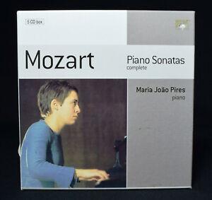 Mozart-Piano-Sonatas-5-CD-Box-Set-Maria-Joao-Pires-1974-Tokyo-Performances-Rare