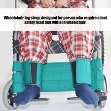 Wheelchair Footrest Leg Strap Seat Belt Medical Restraints Safety Foot Support H
