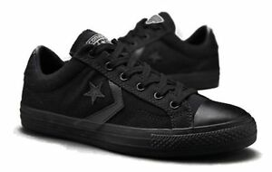 1b3a415177 Image is loading CONVERSE-CONS-STAR-PLAYER-Ox-BLACK-UNISEX-CASUAL-