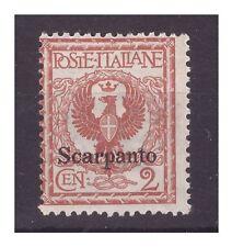 ISOLE EGEO  SCARPANTO  1912 -  Centesimi  2   NUOVO **