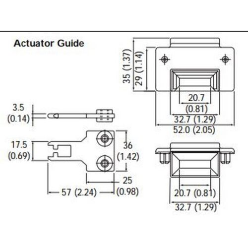 AB GD2 440K-A11112 Guardmaster Actuator for TLS-GD2 000927