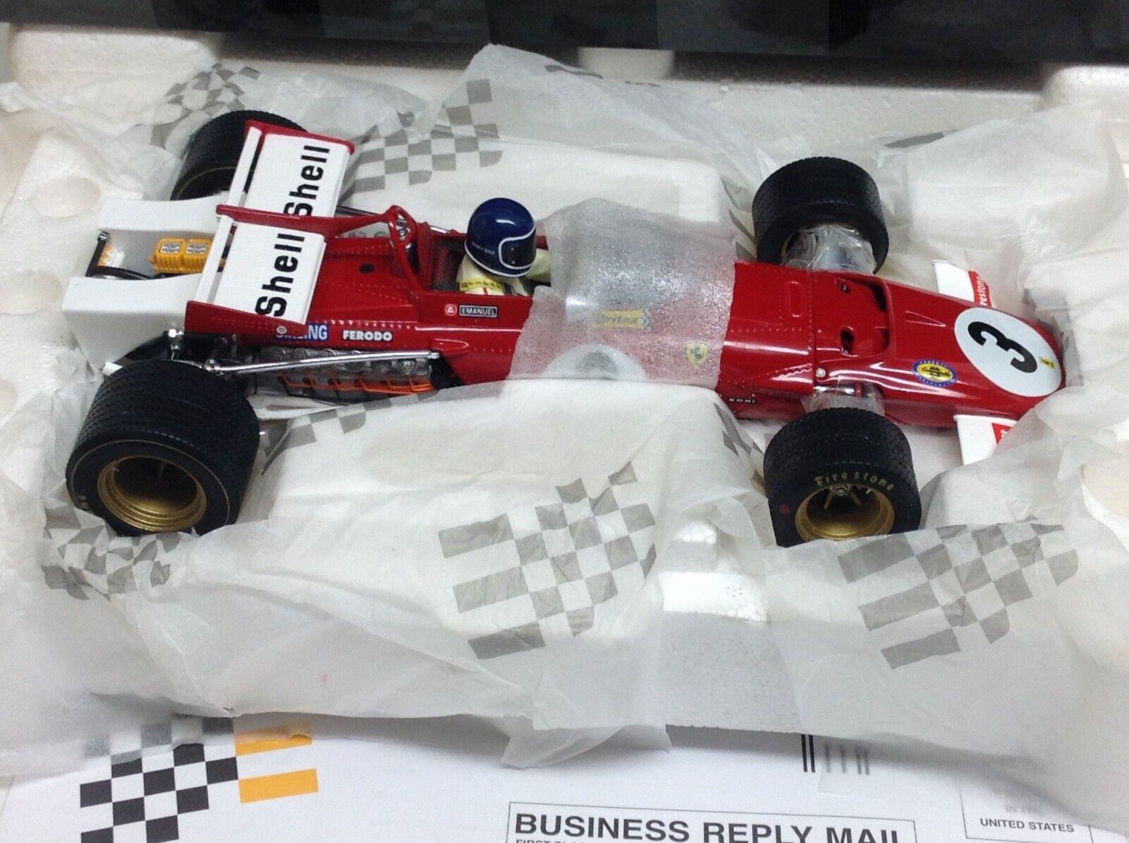 Exoto ferrari 312 B Jacky Ickx winner Grand Prix méxico 1 18 nuevo 97063