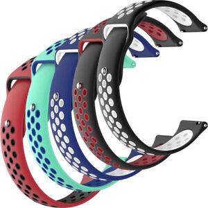 Cinturino-18mm-SPORTIVO-silicone-forato-smartwatch-per-TicWatch-C2-FOR9