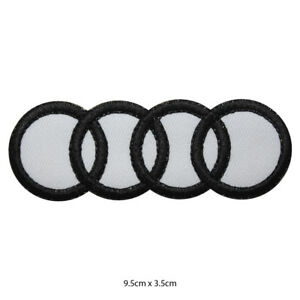 Audi-Racing-Car-Brand-Embroidered-Patch-Iron-on-Sew-On-Badge-For-clothes-etc