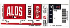 2014 KANSAS CITY ROYALS VS LA ANGELS AL DIVISION SERIES TICKET STUB GAME 2 10/3