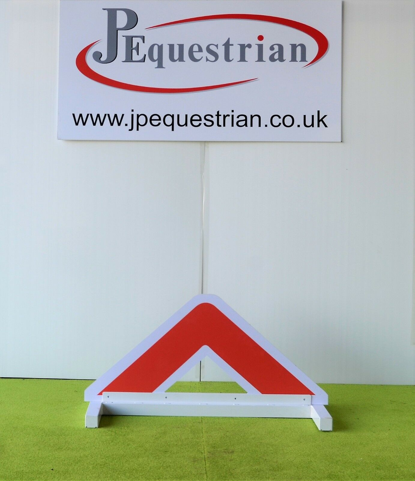 orange Triangle Show jump Filler-For Showjumping