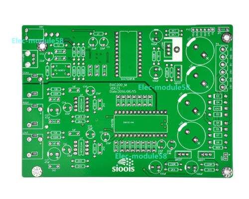 Optical DAC Decoder Decoding Board Bare PCB TDA1541+SAA7220+DIR9001 Coaxial