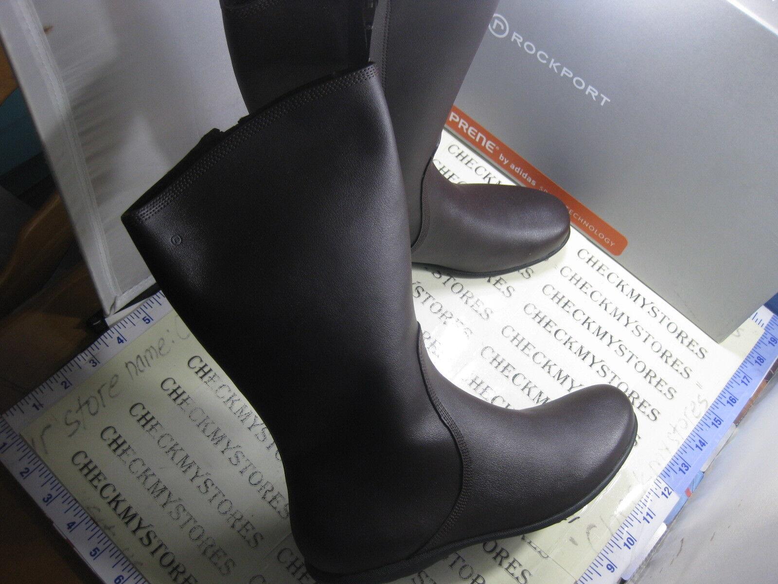 Nuevo En Caja  Rockport V74145 Ashley Mediados de cuero confort de cuero botas eligió para Mujer