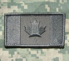 CANADA FLAG CANADIAN ARMY MORALE MILITARY ACU PATCH W/ VELCRO® BRAND FASTENER