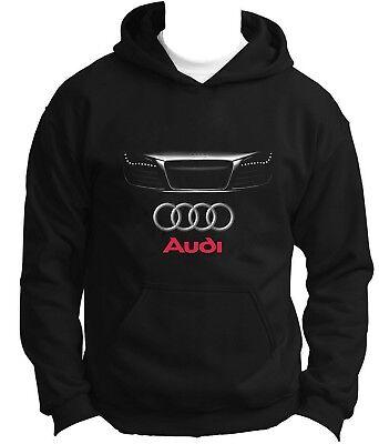 Nouvelle Audi Vorsprung Technik Sweat à Capuche Hoody Sweat à Capuche Pull Pullover