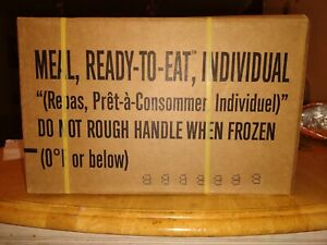 MRE Ready-to-Eat Military Surplus emergency rations