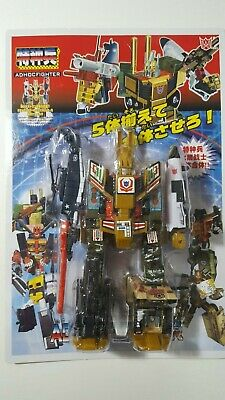 Polyfect freihterpan Transforming Transformable Robot Action Figure
