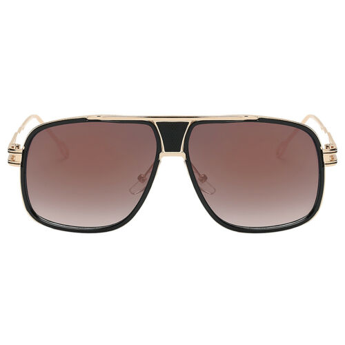 Square Sunglasses Mens Women Vintage Sunglass Big Face Oversized Eyewear Glasses