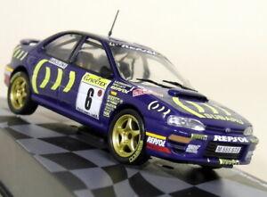 Altaya-1-43-Scale-Subaru-Impreza-555-Rally-Monte-Carlo-1995-Diecast-Model-Car