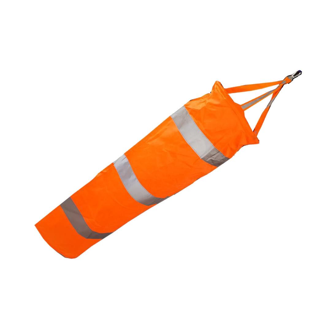 32'' Airport Windsock Outdoor Wind Measurement Sock Bag with Reflective Belt