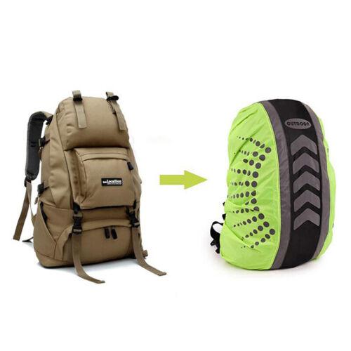Outdoor Reflective Backpack Cover Bag Cover Rain Dustproof Waterproof Co wrN ue