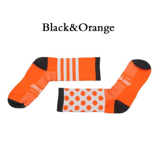 Men Women Cycling Sports Socks  Breathable Soft Socks Long Tube Compression