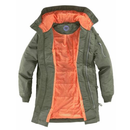Giacca alta Short Coat L Hood Khaki qualità Parka 40 invernale Giacca 42 XL UUrBwZx