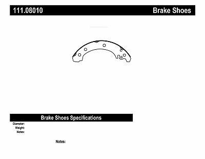 Drum Brake Shoe Rear Wagner Z801 fits 03-08 Toyota Corolla