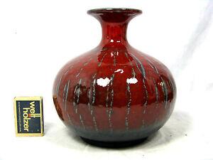 Well shaped # formschöne 70 s design Carstens Keramik pottery Vase B.56 - 16. - Wuppertal, Deutschland - Well shaped # formschöne 70 s design Carstens Keramik pottery Vase B.56 - 16. - Wuppertal, Deutschland