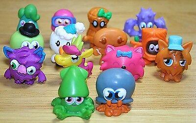 100% Kwaliteit Moshi Monsters Figures/collection Bundle X14 Beroemd Voor Geselecteerde Materialen, Nieuwe Ontwerpen, Prachtige Kleuren En Prachtige Afwerking