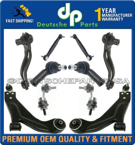 Jaguar X-Type FRONT REAR CONTROL ARM BALL JOINT Tie Rod Sway Bar Link Kit 10