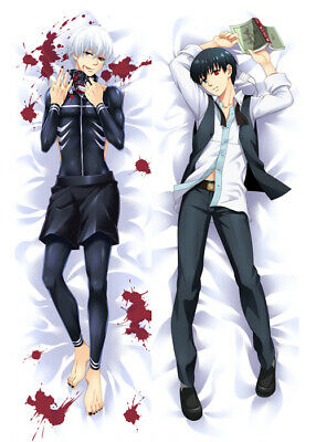 "41/""One Piece LUFFY Dakimakura Pillow Case Cover Hugging Body 59048"