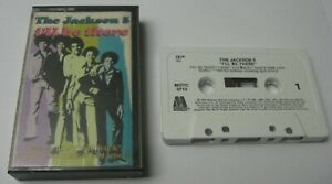 RARE-The-Jackson-5-Cassette-Tape-I-039-ll-Be-There-Motown-Vintage-1989-FREE-Shipping