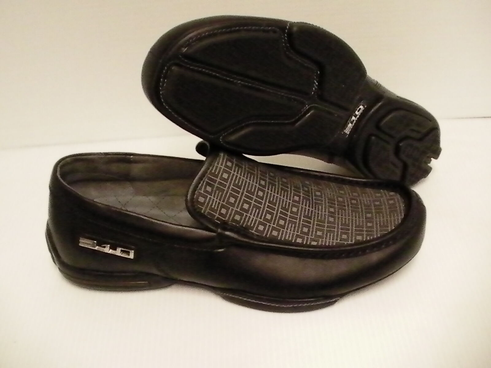 310 motoring shoes canning slip-on casual slip-on canning black/gray size 11.5 us new with box be9840