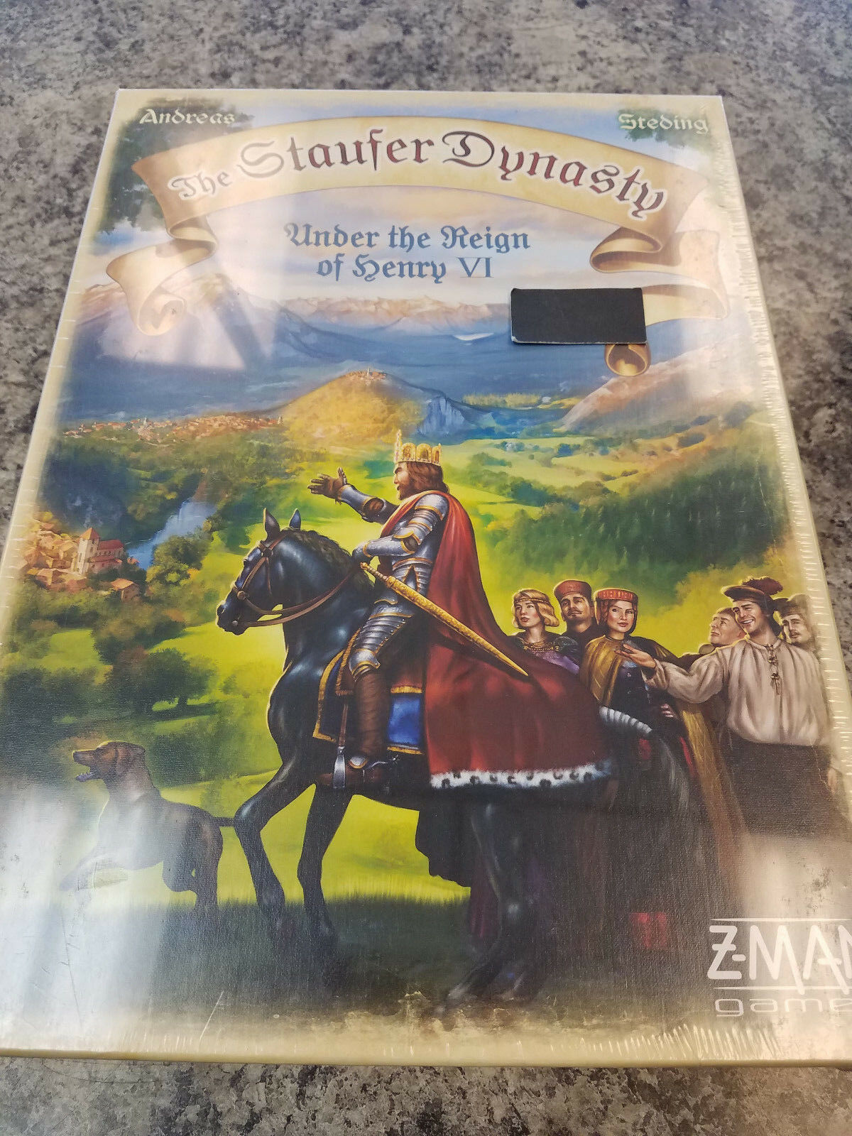 The Staufer Dynasty - Z-Man Games Board Game New