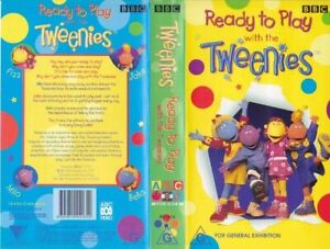 TWEENIES-READY-TO-PLAY-VHS-PAL-VIDEO-A-RARE-FIND