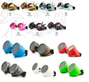 Cyber-Gafas-Steampunk-GOTH-OVALADO-Plastico-Soldadura-Gafas-de-sol-100-UV400