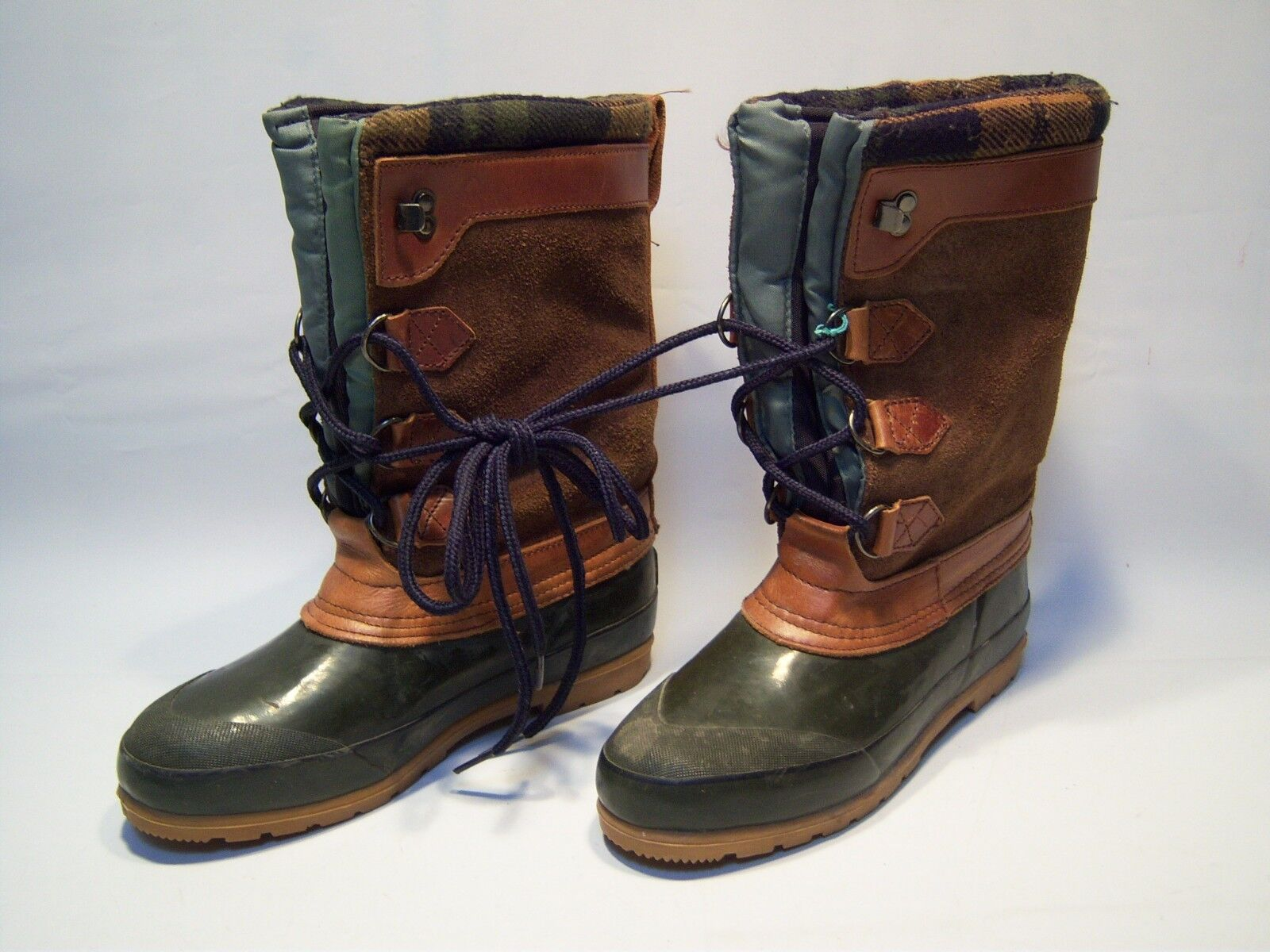 Vintage Trader Bay Weather Proof Hunting Boots Women's Size 7