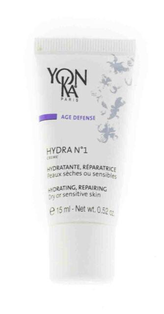 Yonka Hydra N1 Crème Hydratant Réparation Sec 0.52oz/15mL sans Boîte Exp 06/20