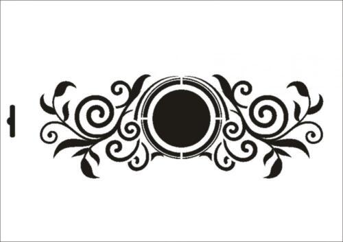 Wandschablone Maler T-shirt Schablone W-442 Ornamente ~ UMR Design