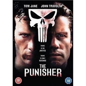 Marvels The Punisher Dvd Thomas Jane John Travolta Will Patton