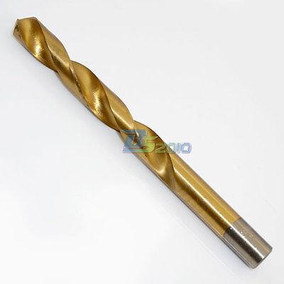 1.5-13mm 1 Pc Titanium Coated Profestional Straight Shank Twist HSS Drill Bits