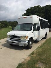 20 passenger bus, Gasoline, in Great Shape White and in excellent condition