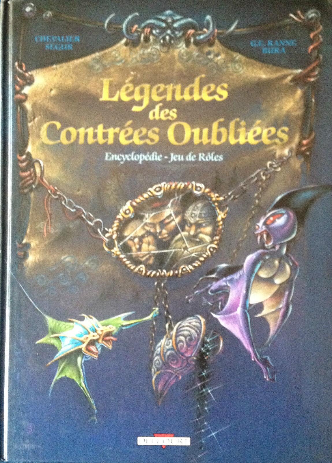Legendes des contrées oubliées - Encyclopédie - Jeu de rôles