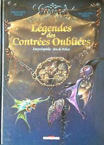 legendes des contrees oubliees encyclopedie du jeu de roles